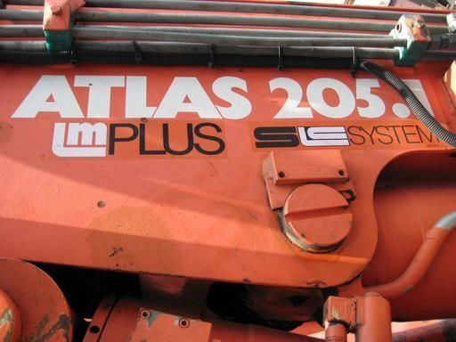ATLAS-205.1 (Geramaniya) macara montată