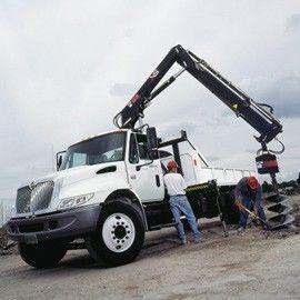HIAB XS 122 macara montată nou