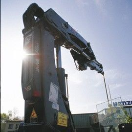 HIAB XS 322 macara montată nou