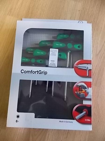 Zestaw kluczy TORX z rękojeścią ComfortGrip. scule service auto