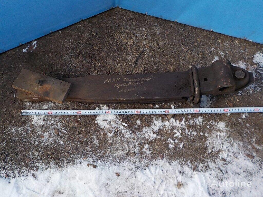 MAN Poluressora lenivca Komandor arc lamelar pentru camion