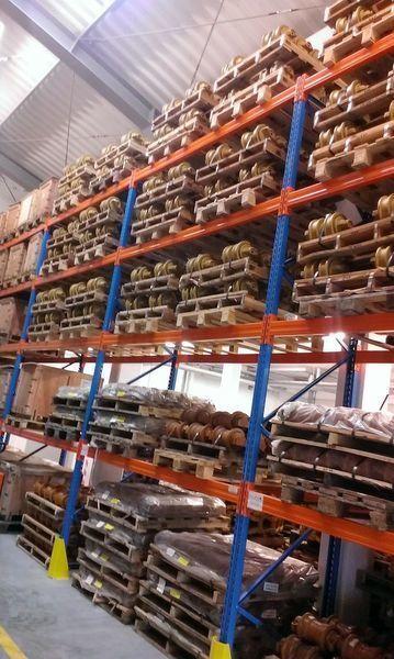 JCB cep, napravlyayushchie kolesa cilindru inferior pentru JCB 130,160,180,220,240,260,290,330 excavator nou