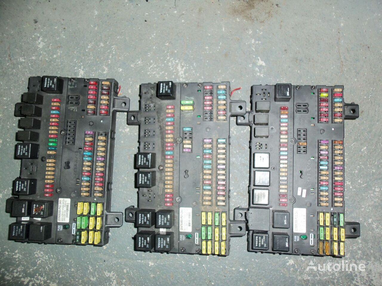 VOLVO FH13 fuse and relay center, central electrical box 20568055, 21732199 cutie de siguranţă pentru VOLVO FH13 autotractor