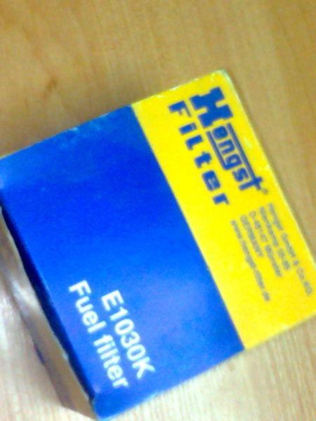 Hengst E1030K filtru de combustibil pentru MERCEDES-BENZ Actros  autotractor nou