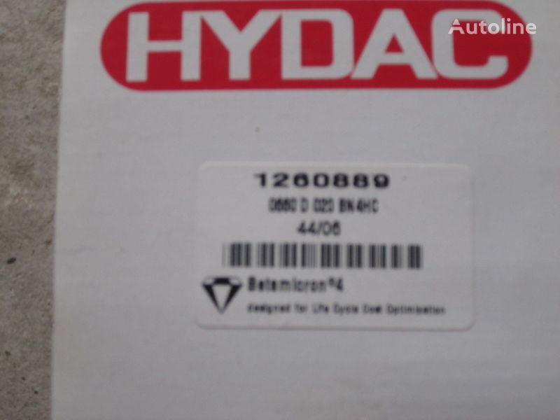 Nimechchina Hydac 1260889 filtru hidraulic pentru excavator nou