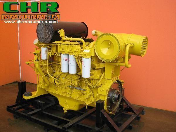 KOMATSU PC750 SAA6D140-E2 motor pentru excavator