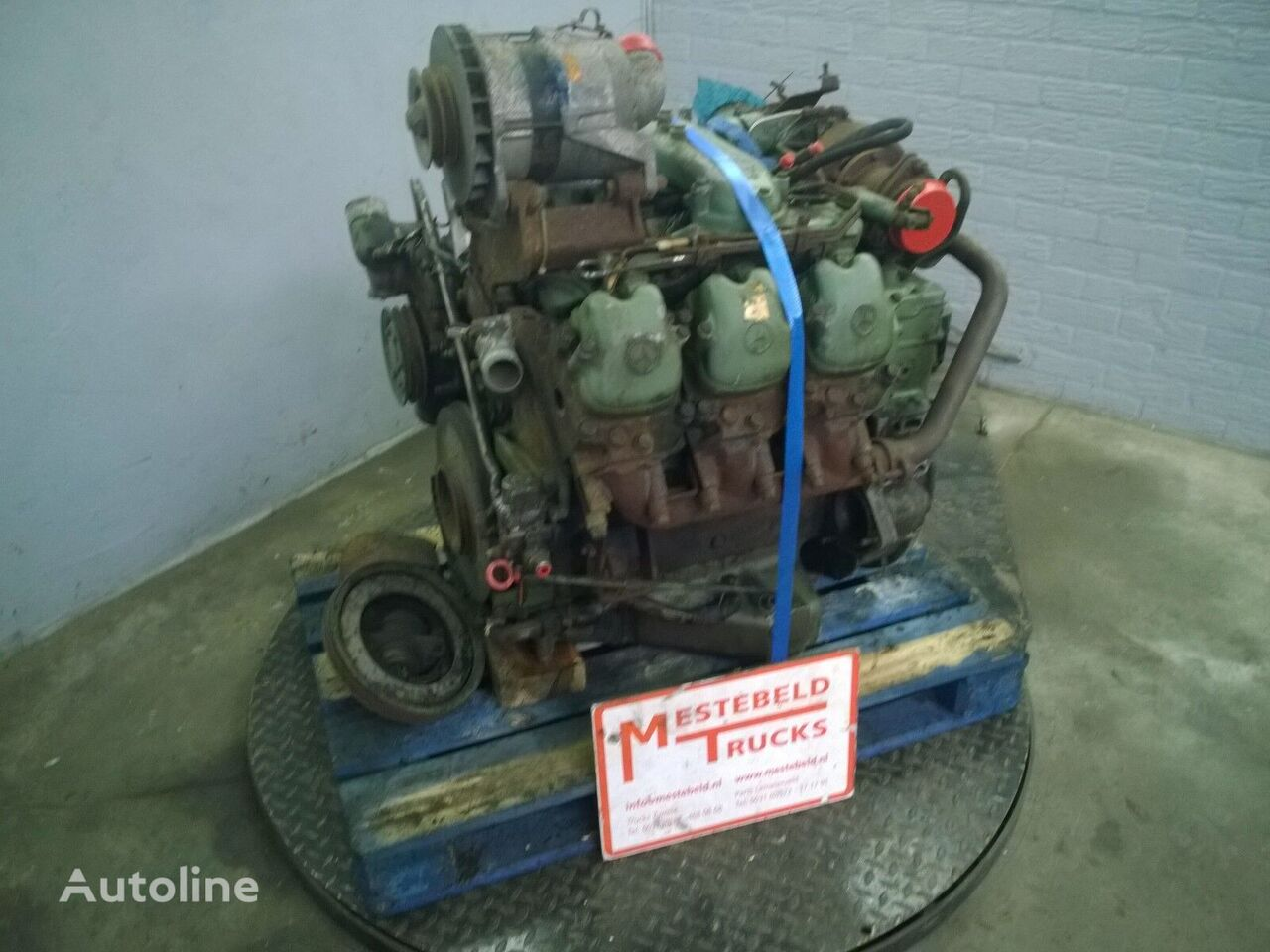 motor pentru MERCEDES-BENZ Motor OM 421 A autobuz