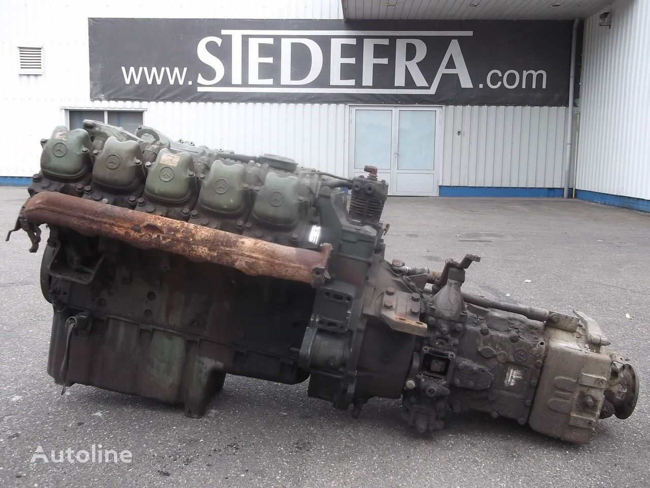 motor pentru MERCEDES-BENZ OM 403 Engine V10 + ZF Gearbox,10 pieces in stock camion