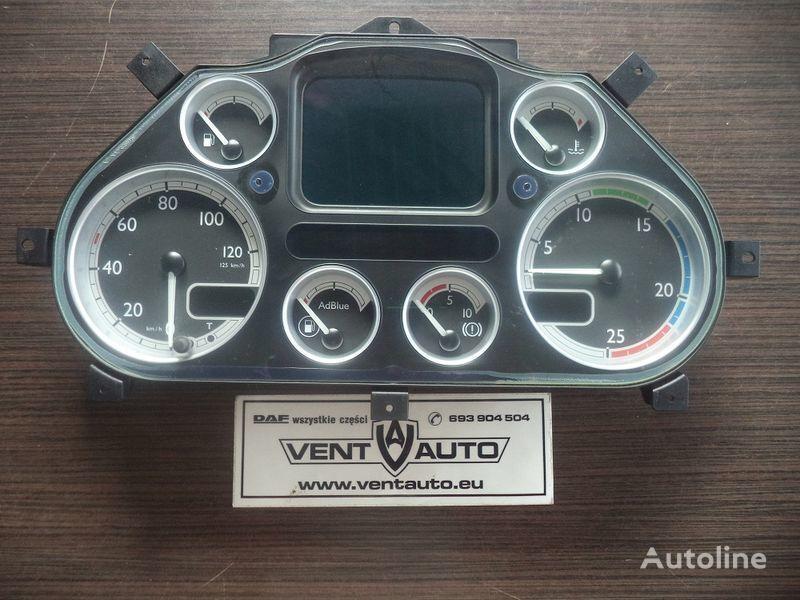 DAF Instrument Panel , Tacho panou cu dispozitive pentru DAF XF 105 autotractor
