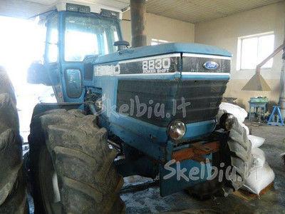 spare parts /b/u zapchasti piesă de schimb pentru FORD 8830 tractor