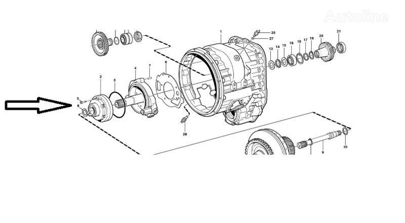 Pompa VOE11145264 piesă de schimb pentru VOLVO L180E încărcător frontal nou