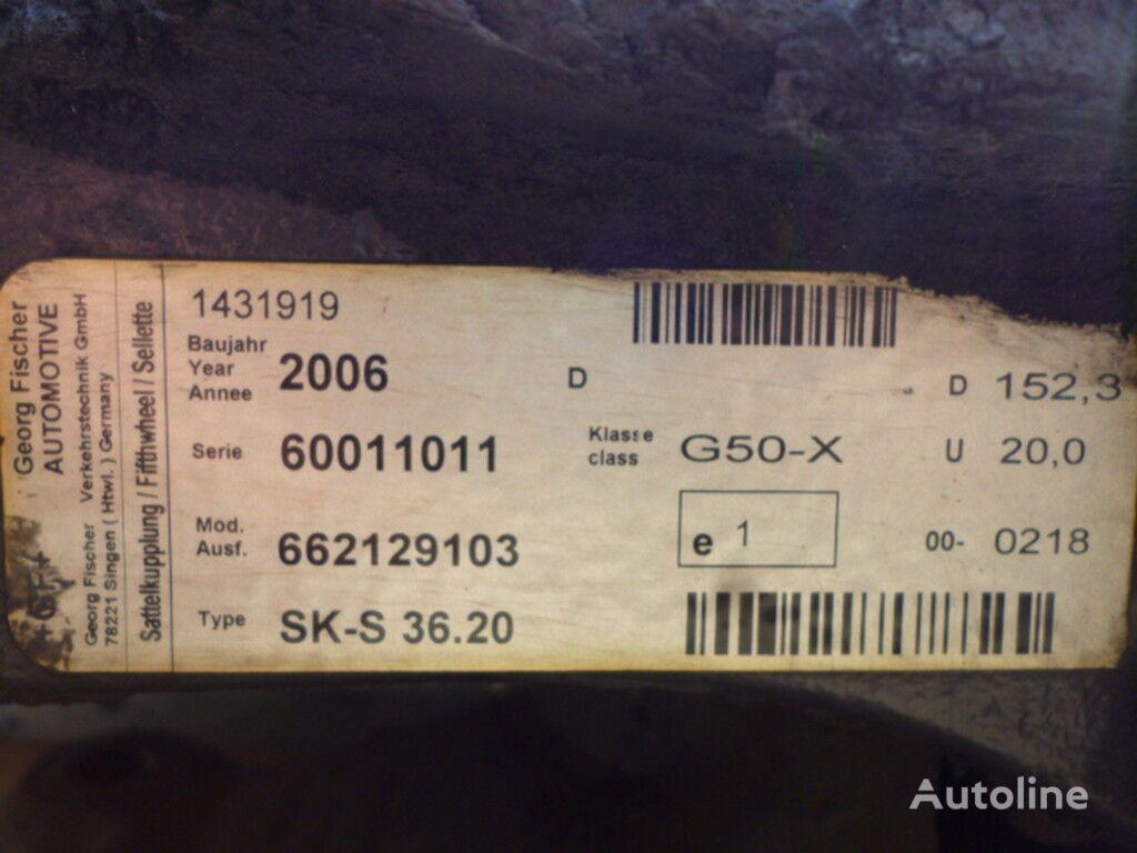 V=180 D=880 Sh=405 placa de cuplare pentru camion