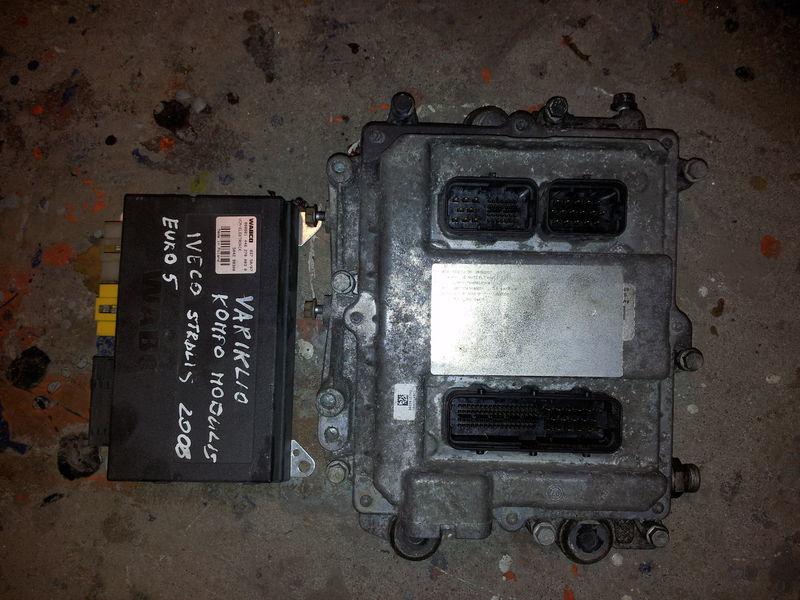IVECO EURO5 450PS ECU 0281020048 engine computer EDC set (EDC, VCM - ELECTRONIC, chip), ignition set, 4462700020, 504122542 unitate de control pentru IVECO STRALIS autotractor