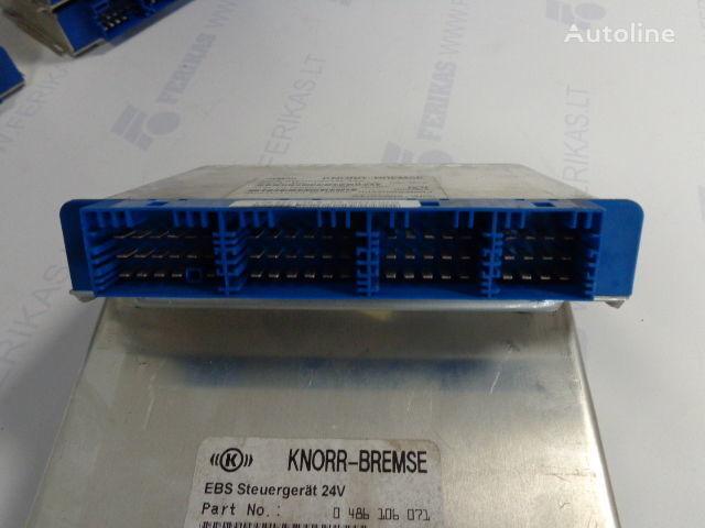 KNOR-BREMSE EBS Steuergerat 24V 0486106027,0486106052,0486106041,0486106071, 81258087057 unitate de control pentru MAN autotractor