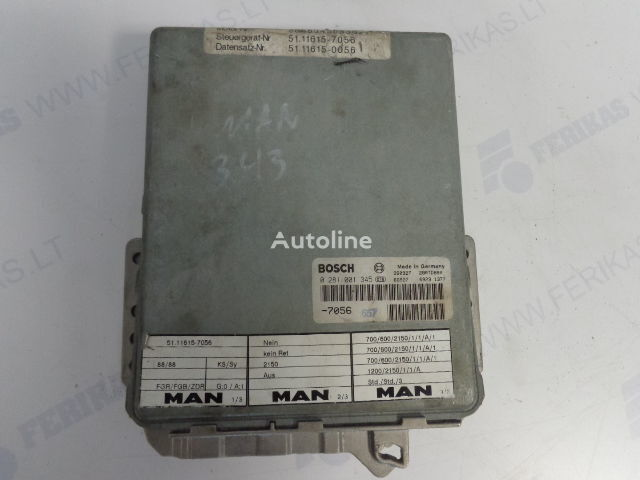 BOSCH EDC 0281001347,0281010017,0281001345,0281001346 unitate de control pentru MAN autotractor