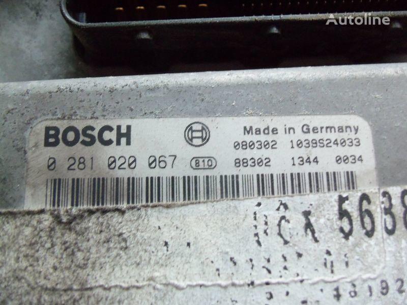 MAN TGA, TGX, engine computer EDC 480PS D2676LF05 ECU BOSH 0281020067 EURO4, 51258037544, 51258037563, 51258037834, 51258037674, 51258337008, 0281020067 unitate de control pentru MAN TGX autotractor