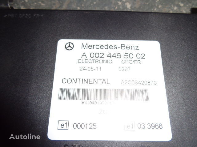 Mercedes Benz Actros MP3 FR unit ECU 0024465002, 0034464202, 0024463102, 0024463505, 0024464802, 0034464402, 0034465102, 0034465502, 0044460002 unitate de control pentru MERCEDES-BENZ Actros autotractor