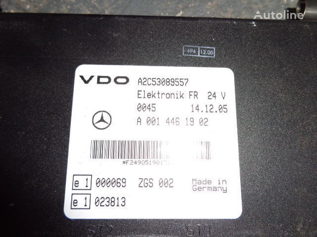 Mercedes Benz Actros MP2, MP3, MP4, FR control unit ECU 0014461902, 0014467302, 014464002, 0014464102 unitate de control pentru MERCEDES-BENZ Actros autotractor