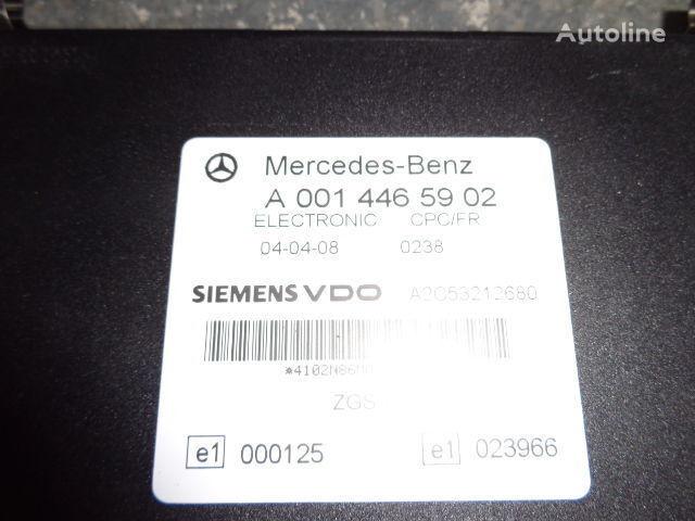 Mercedes Benz Actros MP2, MP3, MP4, FR control unit ECU 0014465902, 0004461346, 0004461746, 0004461446, 0004461846, 0014461502, 0014464302, 0024464302, 0024460202, 0014465502, 0024463202, 0024461302, 0024462902, 0024463402, 0034463502, 0024462602, 0024461 unitate de control pentru MERCEDES-BENZ Actros autotractor