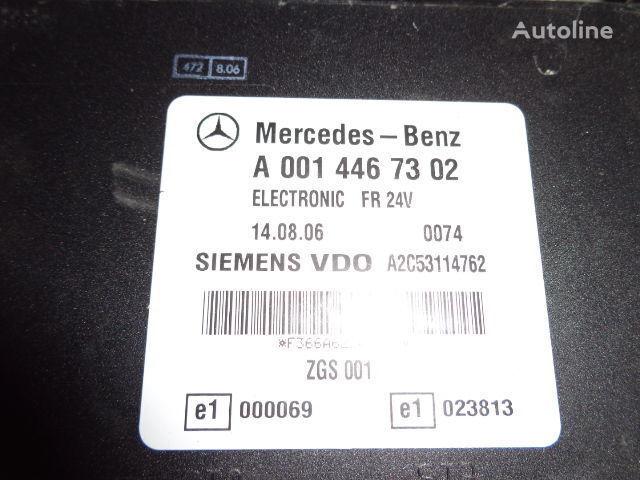 Mercedes Benz Actros MP2, MP3, MP4, FR control unit ECU 0014467302, 0014467302, 0004467502, 0014461002, 0014467402, 0004467602, 0004469602, 0014461302, 0014461402, 0014462602, 0014467002, 0014461902, 0014464102, 0014464002, 0024460102, 0014465402, 0024460 unitate de control pentru MERCEDES-BENZ Actros autotractor