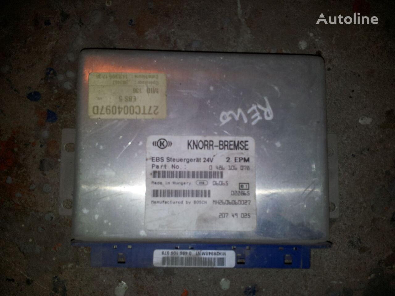 Renault DXI MAGNUM, PREMIUM EBS Control unit 20749025, 20895573, 0486106078, 0486106085, 20895576, 85110026, 85129471, 85110025, 20895573 unitate de control pentru RENAULT Magnum DXI autotractor