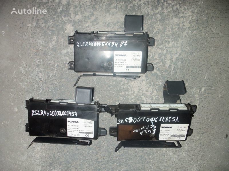 Scania R series RCL control unit (AECU ASSY) 1731940, 1731939, 1728359, 139365, 1731939, 1539372, 1539372 unitate de control pentru SCANIA R series autotractor