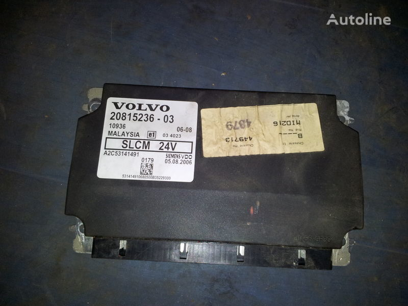 VOLVO FH 12, FH13, Light control unit SLCM, 20815236, 20744286, 20744283, 20865208, 85115541, 20815236, 85110015 unitate de control pentru VOLVO FH13 autotractor