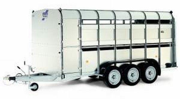 IFOR Williams TA510T remorcă transport animale