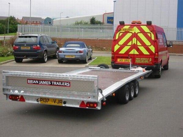 BRIAN James Trailers TT-T-303 remorcă transport auto
