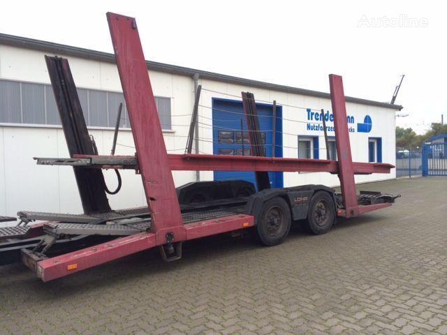 LOHR TA 10/4, 8 x vorhanden remorcă transport auto