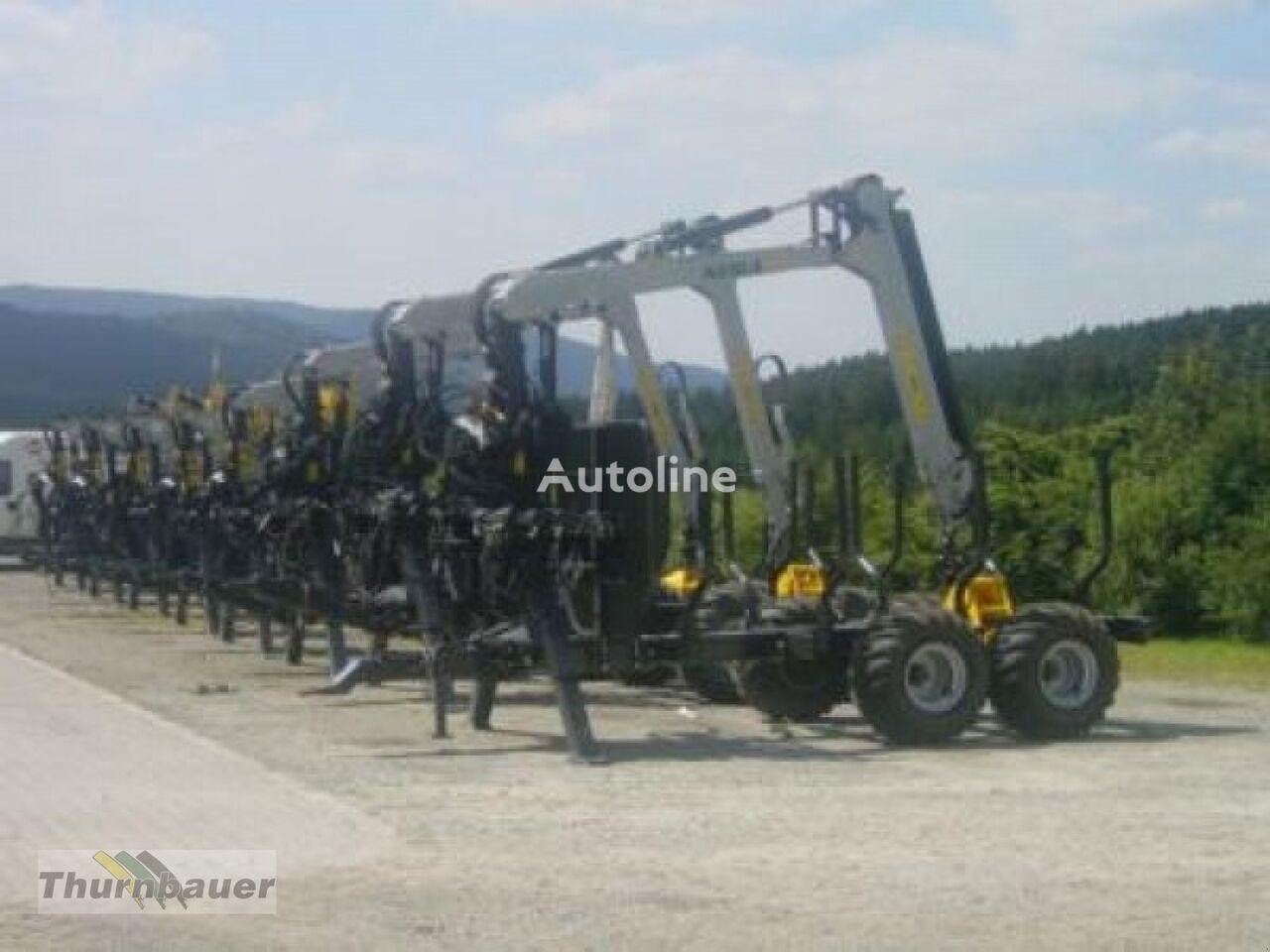 9T - 15 T remorcă transport de lemne nou
