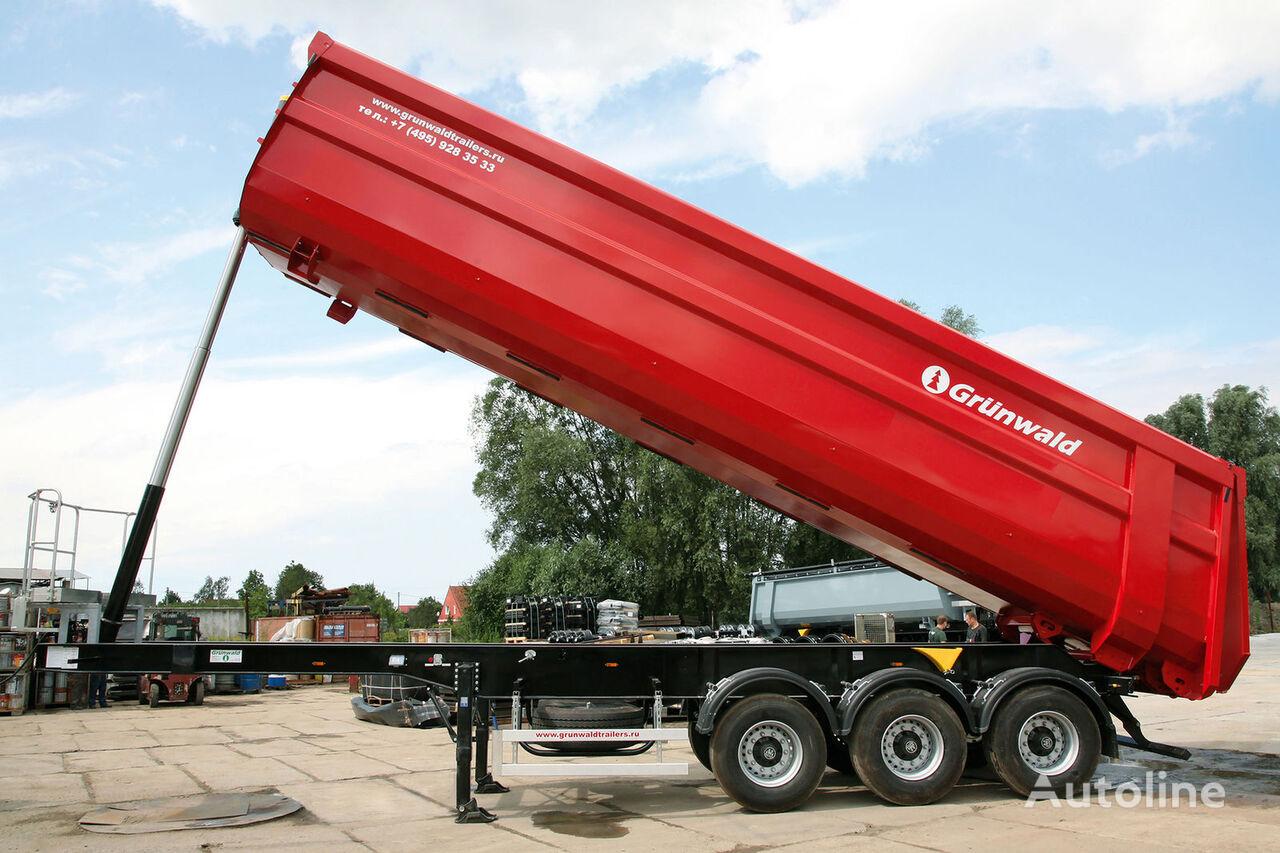 GRUNWALD Tipper semitrailer 50 cbm semiremorcă basculantă nouă
