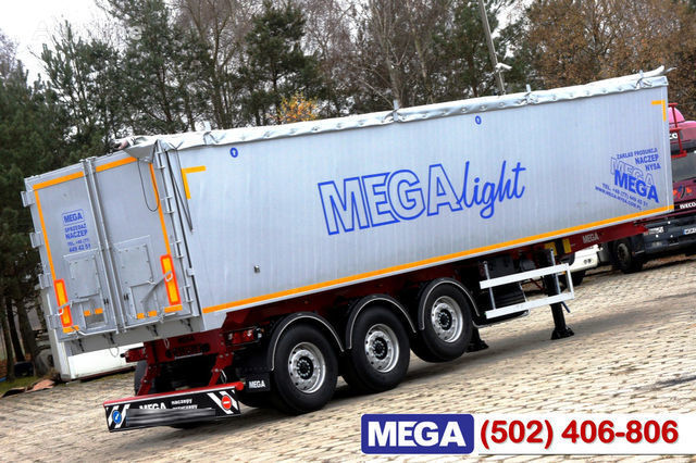 KARGOMIL 42 - 45 m³ Alubox - ULTRA - light only 5,800 kg weight ! READY T semiremorcă cereale nouă