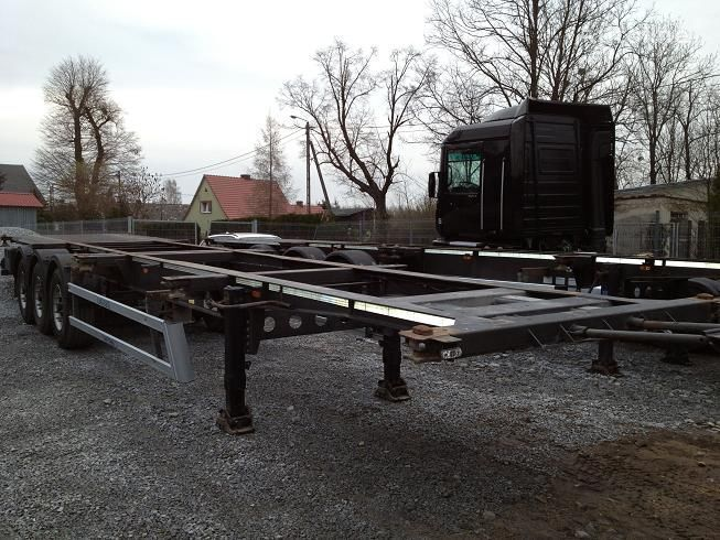25 X COINTAINER CHASSIS semiremorcă pentru transport containere