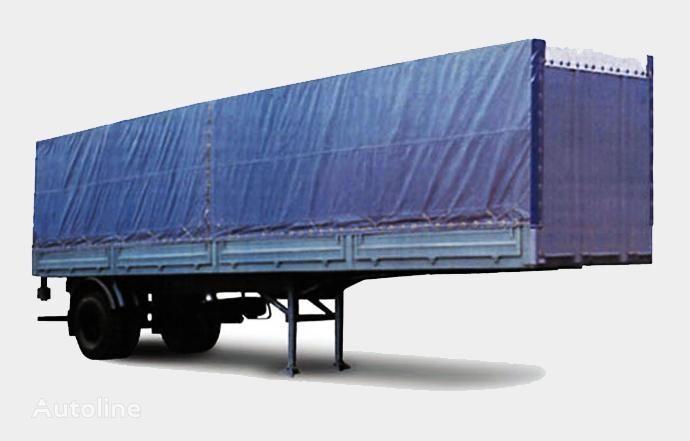 MAZ 938020 semiremorcă platformă cu obloane nouă