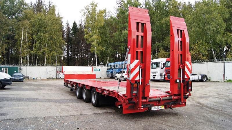 GRUNWALD Triaxial low bed semitrailer semiremorcă transport agabaritic nouă