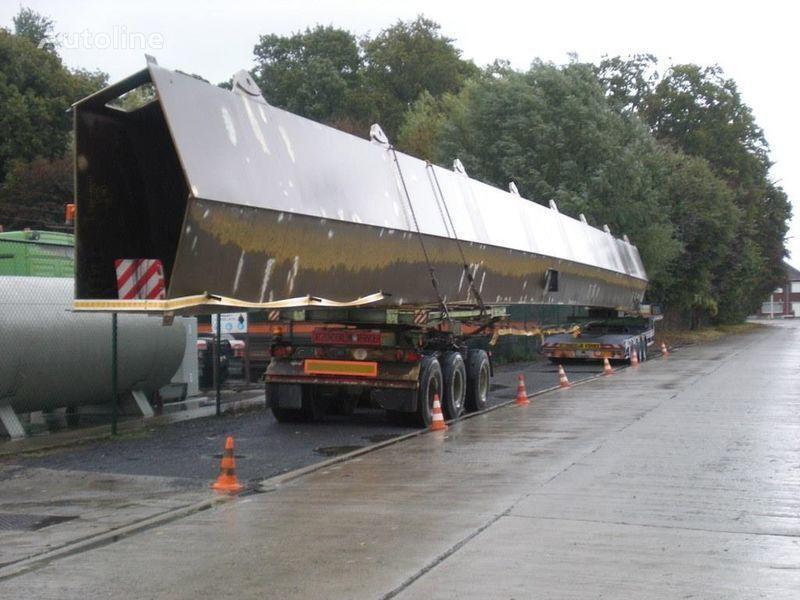 NOOTEBOOM MOL 3 x BPW achse DOLLY semiremorcă transport agabaritic