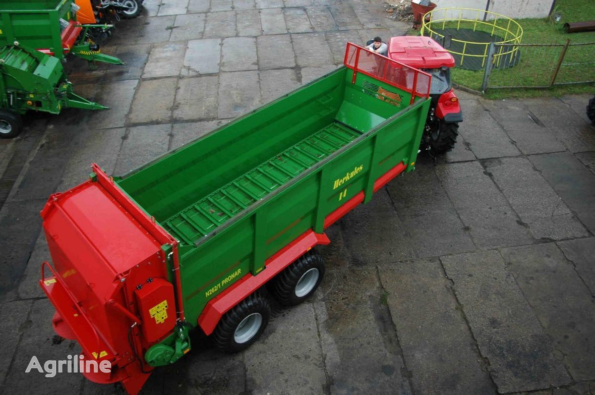 PRONAR N262/1 HERKULES remorcă de imprastiat gunoi nou