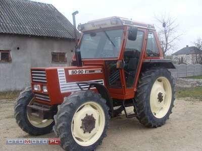 FIAT 80 90 DT tractor cu roţi