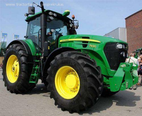 JOHN DEERE 7930 tractor cu roţi
