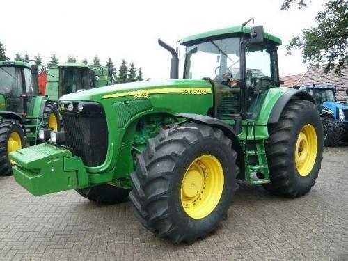 JOHN DEERE 8410 tractor cu roţi