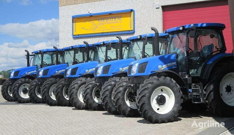 NEW HOLLAND T6.140 AEC, air, front suspensoin! tractor cu roţi nou