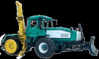 SMR-3 Specializirovannaya mashina dlya remontno-stroitelnyh rabot  tractor cu roţi