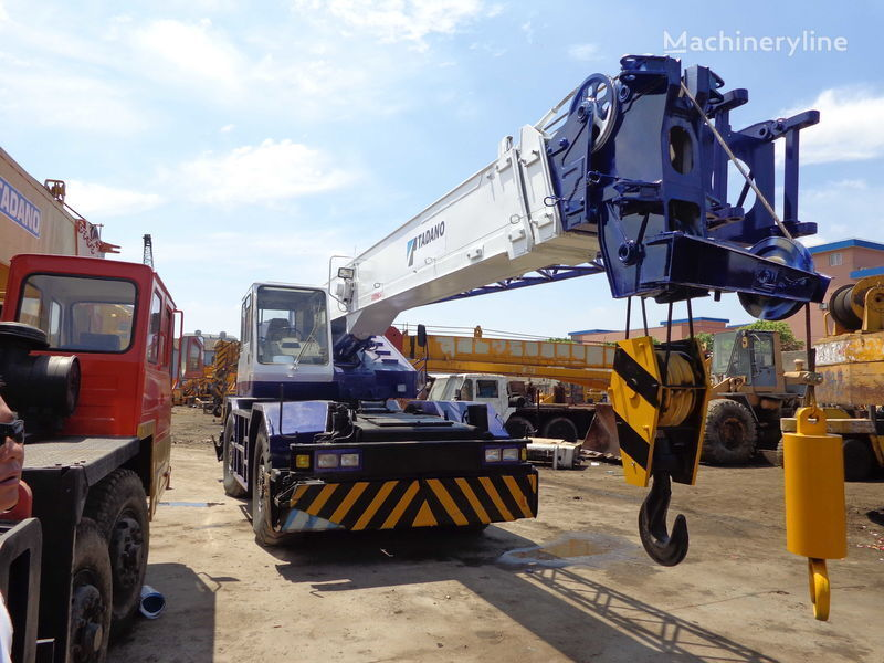 TADANO TR250M(rough terrain crane) automacara