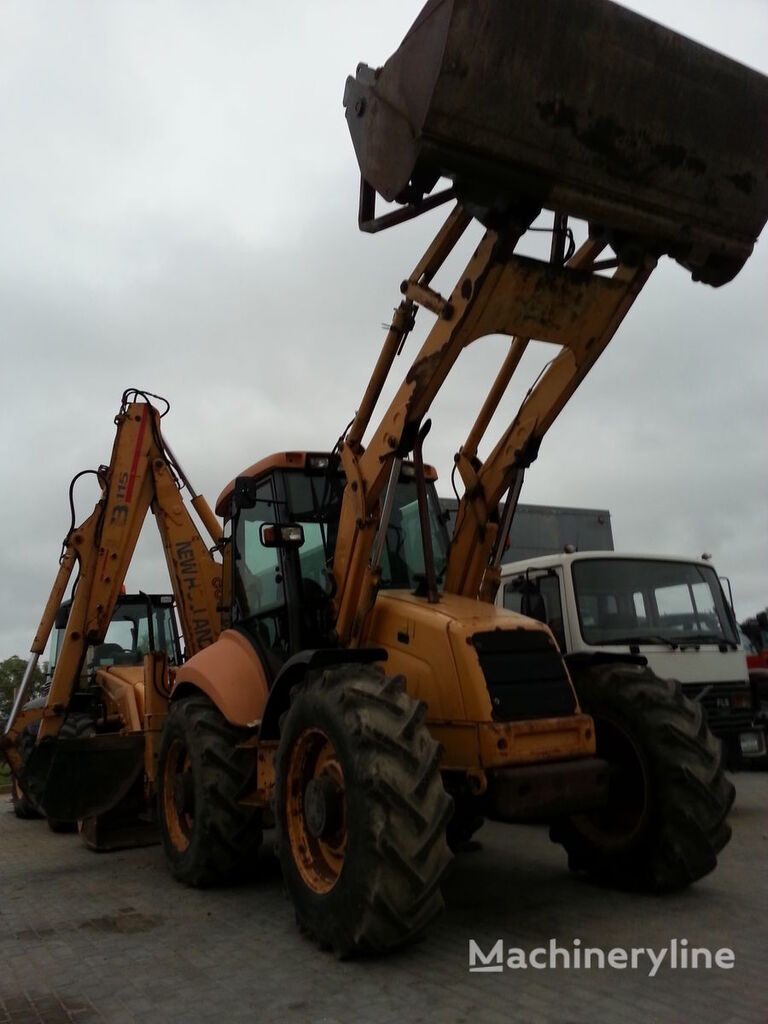 NEW HOLLAND 4PS buldoexcavator