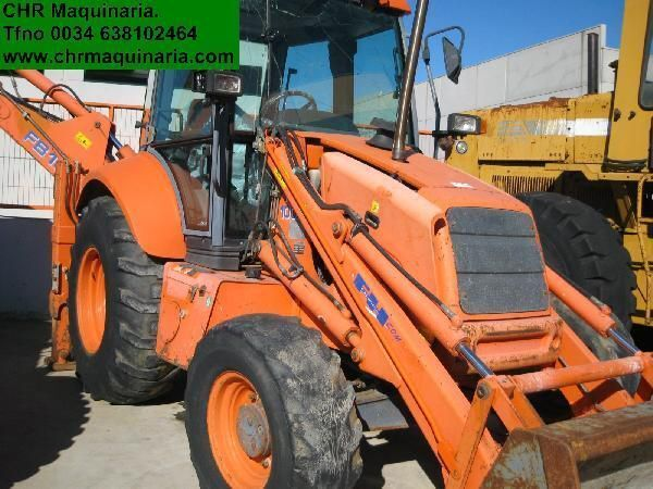 NEW HOLLAND FB 110 buldoexcavator