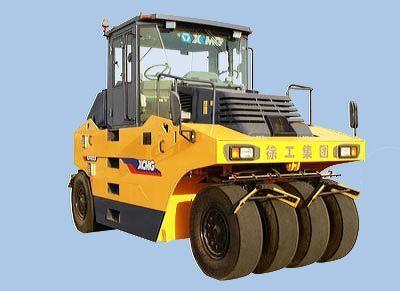XCMG XP163 cilindru compactor pe pneuri nou