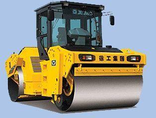 XCMG XD122 cilindru compactor pentru asfalt nou