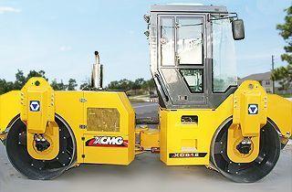XCMG XD81E cilindru compactor pentru asfalt nou