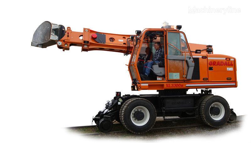 GRADALL XL 3300 excavator cale ferate nou